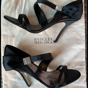 Badgley Mischka Black Formal Shoes 8